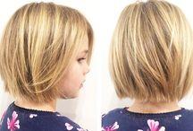 Küçük çocuk saçlar