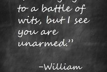 Shakespeare / Quotes from the best writer ever
