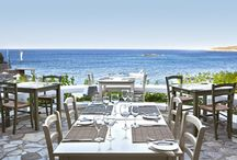 Sip N' Dine at Minos Palace / Enjoying culinary delights in one of the four restaurants of Minos Palace in Crete.  http://goo.gl/rZxkew