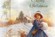 Рождественские открытки.