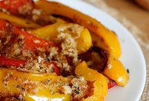 Contorni / Peperoni alla mollica