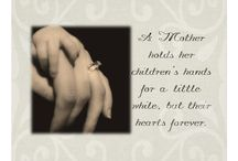 A Mother Holds Her Children's Hands / A Mother Holds Her Children's Hands For A Little While But Their Hearts Forever