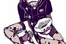 """Torao-Ya / """"You can't see the whole picture until you look at it from the outside."""" Trafalgar D. Water Law"""