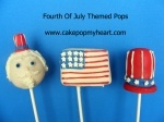 4th of July / #cakepops #fourthofjulycakepops #fourthofjuly #cakepopmyheart #fourthofjulypartyfavors cakepopmyheart.com / by Cake Pop My Heart