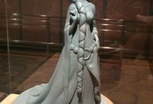 Maquettes / Statues and sculpting used in animating movies