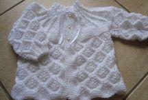 tricô de bebê