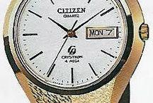 Vintage SEIKO, CITIZEN watches