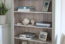 painting bookshelves and more