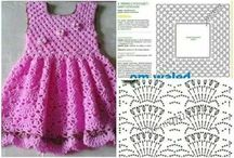 Szydełkowe sukienki, spódnice;)