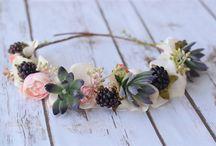 Στεφάνια - λουλούδια