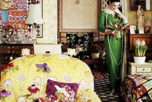 At Home / Style icons portrayed in their beautiful houses