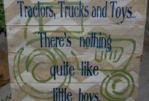 tractor room