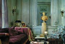 classic houses / living rooms