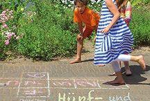 Kinderspiele Outdoor