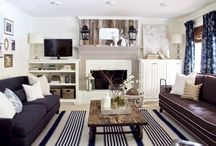 Welcome Home: Living Rooms / by Kellye Cannon