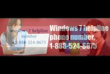 window 7 toll free number usa