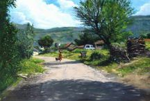 Realistic Paintings / Original Realistic Paintings by Artists of India.