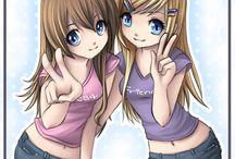Лиза и Анна