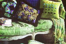 FOR THE GREEN LOVERS / vivid greens ......