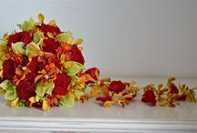 Teardrop, Cascade, Waterfall and Shower Bridal Flowers