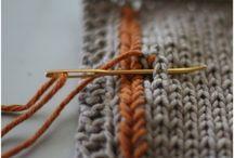 knit tutorial - stitch