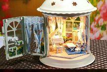 casitas miniatura