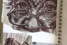 Sketchbook ideas A level art