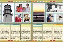 Crafts - Scrapbook 2 pg layouts