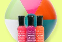 Hard As Nails Xtreme Wear® / Available in 45 of the hottest, most-wanted shades / by Sally Hansen
