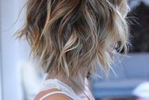 colored short hair