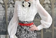 Белые блузы рубахи