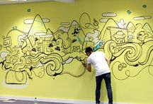wall illustration