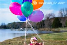 lovely balloons. / by Casey Mullins