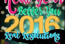 New Year, Better You, Real Resolutions / Check out MDR and PBM for tips, products and more to make 2016 the best year ever #BetterYou2016