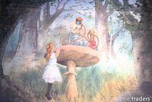 Alice in wonderland / Alice in wonderland props for hire and Alice in wonderland party ideas