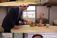 Michael. Dwight. Jim. Pam. Angela. Kevin. Oscar. Creed. Phyllis. Toby. Holly. Kelly. Stanley. The Office. / by Michelle Mills