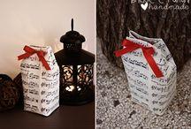 riciclo creativo / scatole da regalo con i tetrapak riciclati