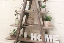 ladder decoration ideas