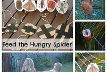 spider & bat theme