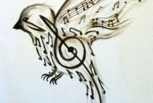 Music, music, music / anything that relates somehow to music