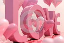 Love Wedding Hearts