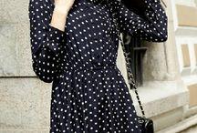 Persunmall polka dots dress