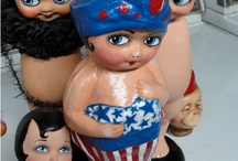 Kewpies and other dolls