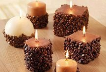 Homemade candles  / by Kiah Freels