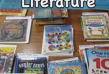 Literacy- Math Classroom
