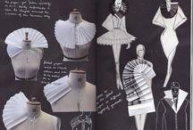 Textile art costume design