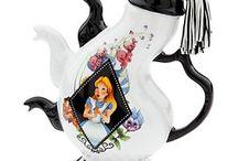 Disney themed tea pots
