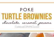 Poke Cakes and Brownies / by Pamela