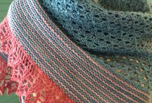 Shawl tastic / Shawls are the best! They are interesting to knit, usually not gauge dependent, and adaptable to all skill levels. Kooky or conservative, they are the perfect accessory.