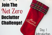 Net Zero Clutter challenge / This board has all the posts from the #NetZeroClutter decluttering challenge. Start decluttering now and enjoy a less overwhelming holiday season!